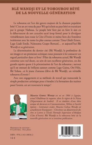 4eme Blé Wandji et le Tohourou Bété de la nouvelle génération