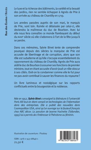 4eme Mémoires apocryphes de Madame de Prie