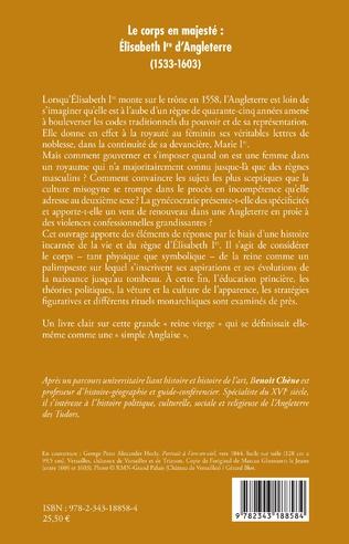 4eme Le corps en majesté :