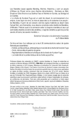 4eme Le peuple Mandéka et la charte de Kurukan Fuga