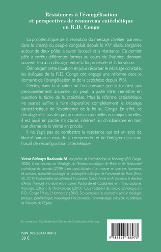 4eme Résistances à l'évangélisation et perspectives de renouveau catéchétique en R.D. Congo