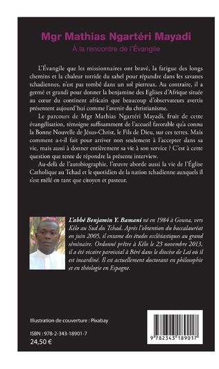 4eme Mgr Mathias Ngartéri Mayadi