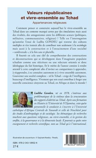 4eme Valeurs républicaines et vivre-ensemble au Tchad