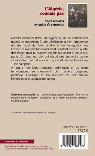 4eme L'Algérie, connais pas