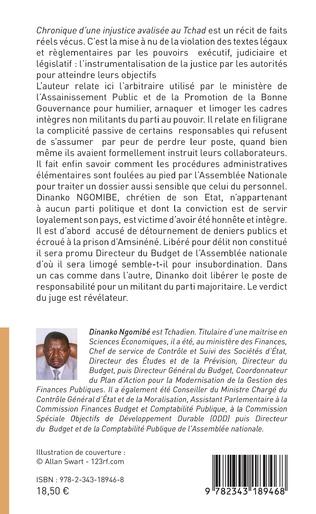 4eme Chronique d'une injustice avalisée au Tchad