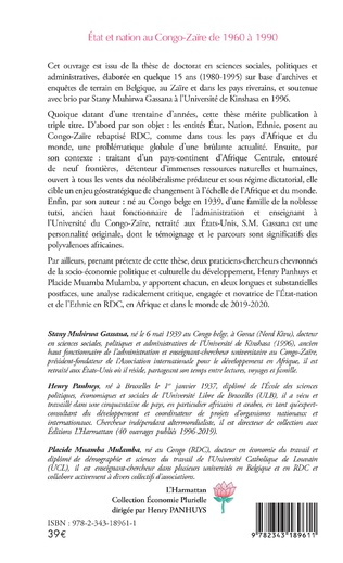 4eme Etat et nation au Congo-Zaïre de 1960 à 1990