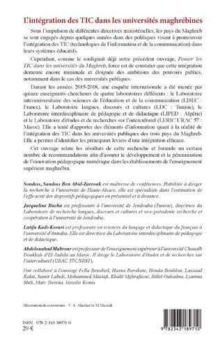4eme L'intégration des TIC dans les universités maghrébines