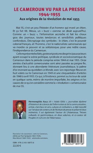 4eme Le Cameroun vu par la presse 1944-1955