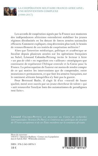 4eme La coopération militaire franco-africaine : une réinvention complexe (1960-2017)