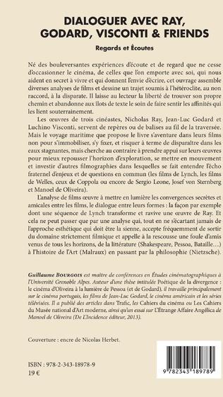 4eme Dialoguer avec Ray, Godard, Visconti & friends