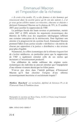 4eme Emmanuel Macron et l'imposition de la richesse