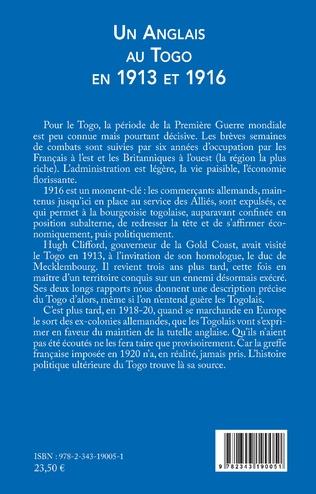 4eme Un Anglais au Togo en 1913 et 1916