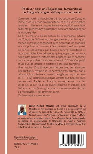 4eme Plaidoyer pour une République démocratique du Congo