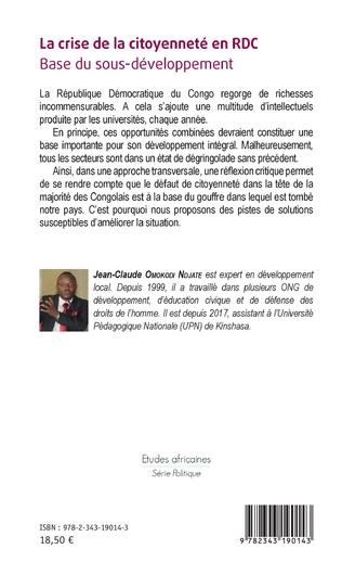 4eme La crise de la citoyenneté en RDC