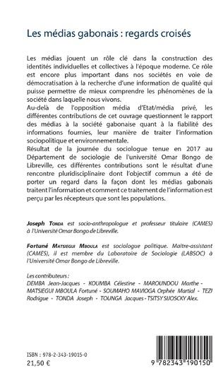 4eme Les médias gabonais : regards croisés