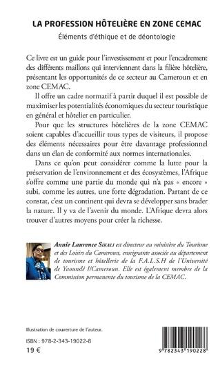 4eme La profession hôtelière en zone CEMAC