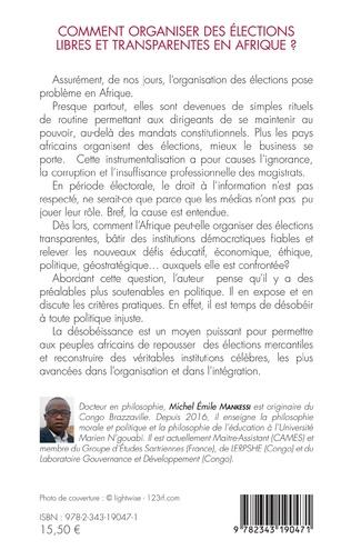 4eme Comment organiser des élections libres et transparentes en Afrique ?