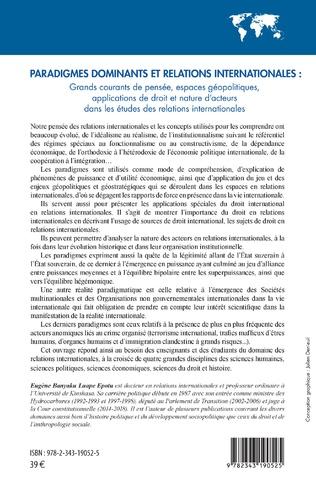 4eme Paradigmes dominants et relations internationales :