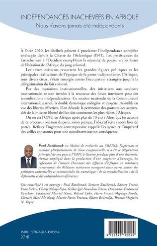 4eme Indépendances inachevées en Afrique