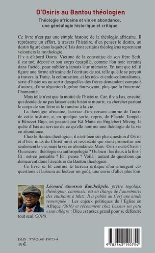 4eme D'Osiris au Bantou théologien
