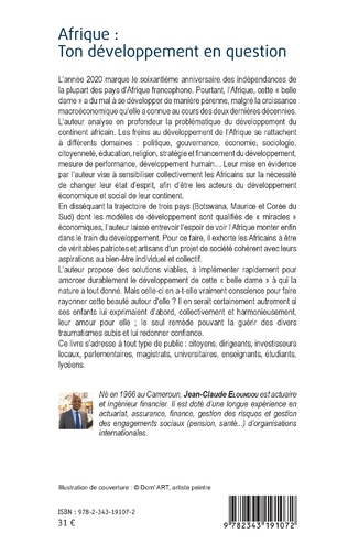 4eme Afrique : ton développement en question