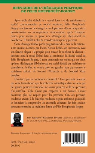 4eme Bréviaire de l'idéologie politique de Félix Houphouët-Boigny