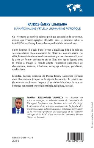 4eme Patrice-Émery Lumumba du nationalisme virtuel à l'humanisme patriotique