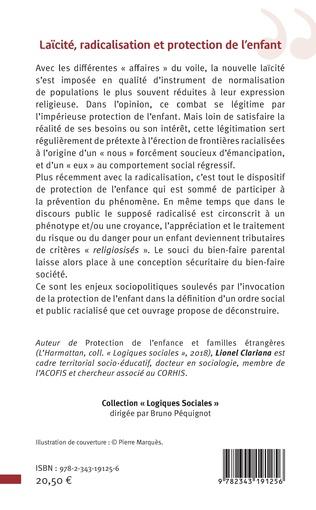 4eme Laïcité, radicalisation et protection de l'enfant