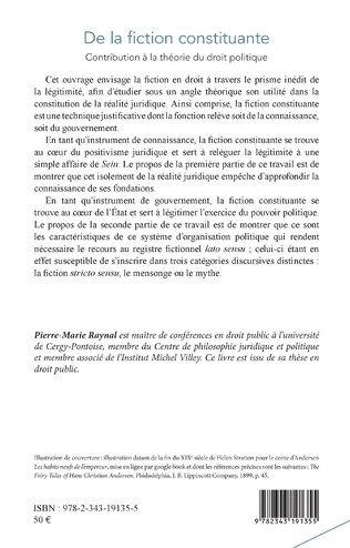 4eme De la fiction constituante