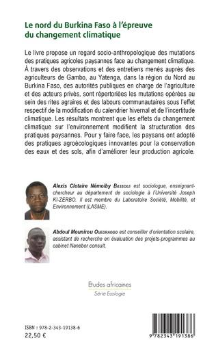 4eme Le nord du Burkina Faso à l'épreuve du changement climatique