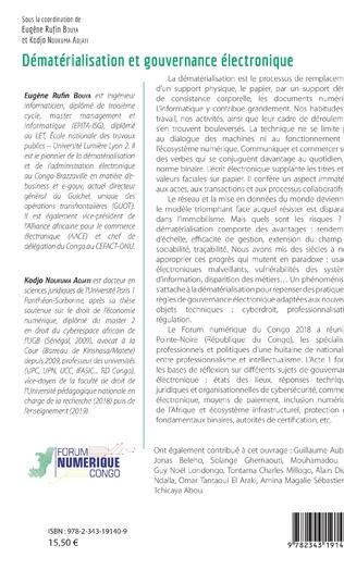 4eme Dématérialisation et gouvernance électronique