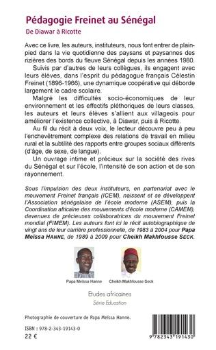 4eme Pédagogie Freinet au Sénégal