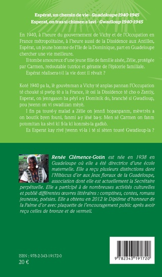 4eme Espérat, un chemin de vie Guadeloupe 1940-1945