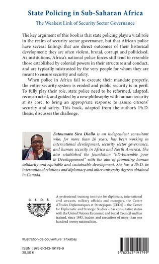4eme State Policing in Sub-Saharan Africa