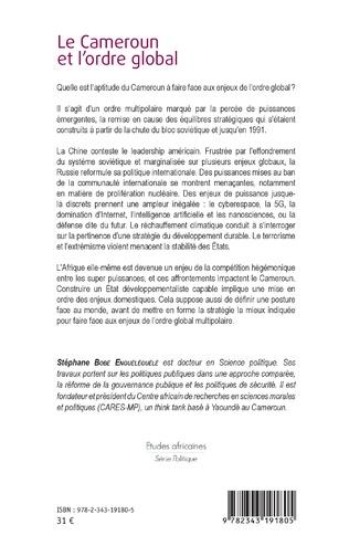 4eme Le Cameroun et l'ordre global