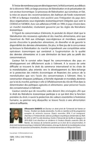 4eme Protection juridique du consommateur d'aliments et libéralisme économique dans les pays en développement