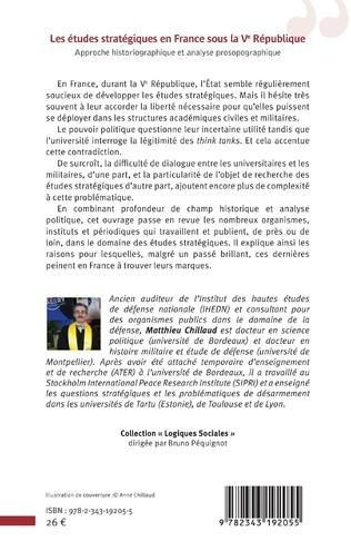 4eme Les études stratégiques en France sous la Ve République