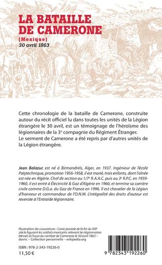 4eme La Bataille de Camerone