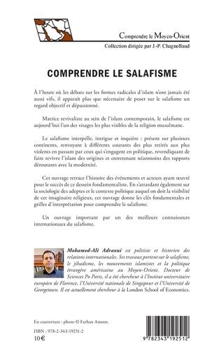 4eme Comprendre le salafisme