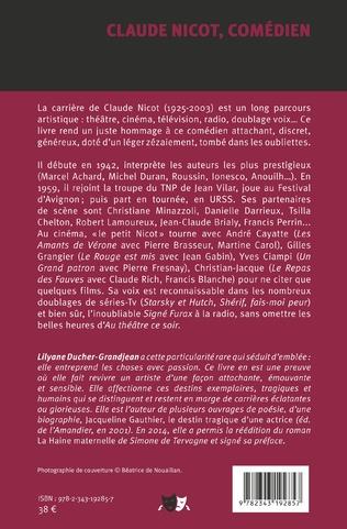 4eme Claude Nicot, comédien