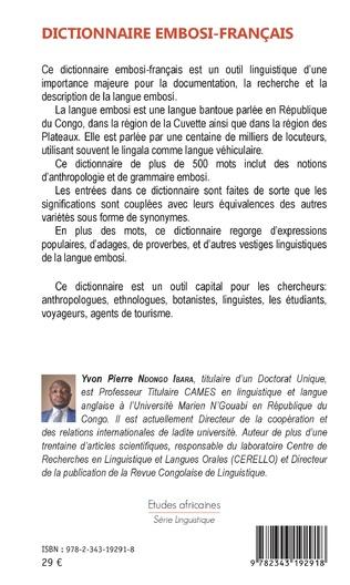 4eme Dictionnaire embosi-français