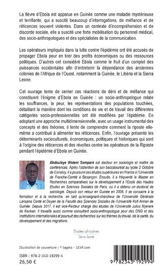 4eme L'énigme d'Ebola en Guinée