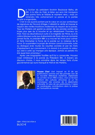4eme Au service de la nation. Discours d'IBK 2013-2019