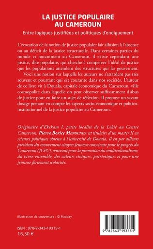 4eme La justice populaire au Cameroun
