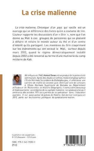 4eme La crise malienne (Nouvelle édition)