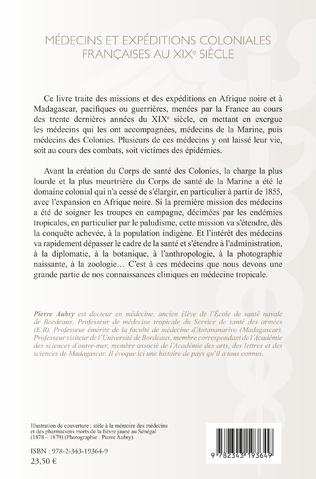4eme Médecins et expéditions coloniales françaises au XIXe siècle