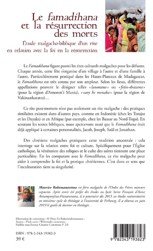 4eme Le famadihana et la résurrection des morts