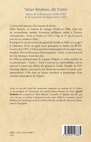 4eme Tahar Ibtatene, dit Tintin