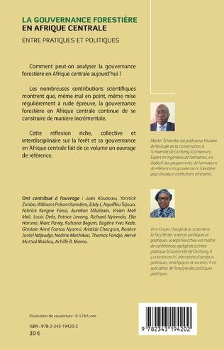 4eme La gouvernance forestière en Afrique centrale