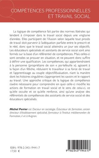 4eme Compétences professionnelles et travail social